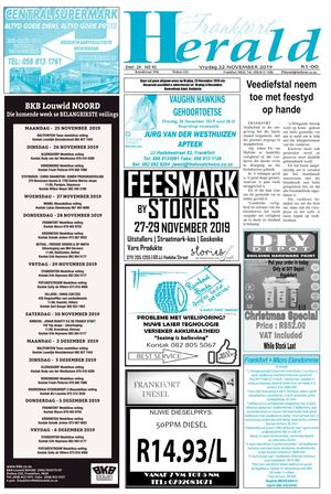 Frankfort Herald 22 November 2019