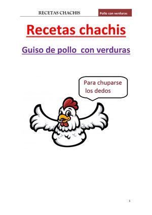 Manual Guiso Pollo
