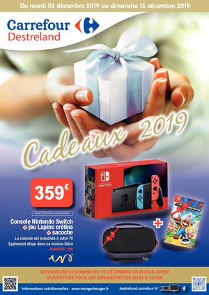 Calaméo - 20191203 Carrefour Destreland Catalogue Cadeaux