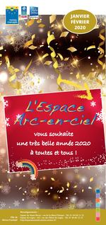 JANVIER FÉVRIER 2020 vous souhaite une très belle année 2020 à toutes et tous! Renseignements : Espace du Noyer-Perrot : rue de la Mare-l'Evêque - Tél. 01 84 86 12 35 Ville de Espace de Lugny : 427, rue des Pièces de Lugny - Tél. 01 84 86 12 23 Moissy-Cramayel http://espacearcenciel.centres-sociaux.fr/