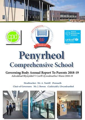 Governing Body Annual Report To Parents 2018-19
