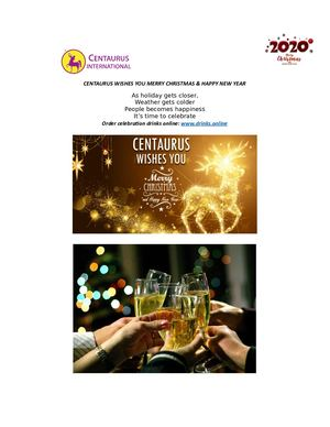 Christmas & NYE Eve Celebrations — Get alcoholic drinks
