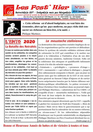 Les Post Hier N 213