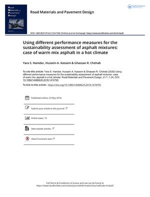 Using Different Performance Measures