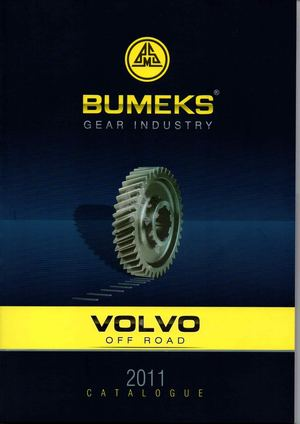 Bumeks Gear Volvo Off-Road Trucks Catalog 2011 version