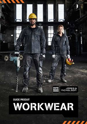 Catalogue James&Nicholson/Myrtle Beach Workwear 2021