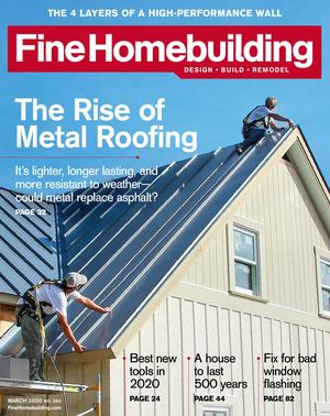 Fine Homebuilding 289 Preview