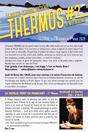 Programmation Festival Thermos#2