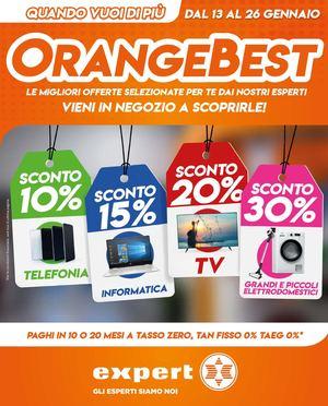 Volantino Orange Best dal 13 al 26 Gennaio 2020