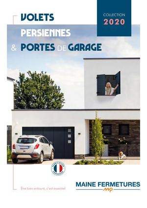 Catalogue Volets Persiennes Portes De Garage Maine Fermetures 2020