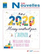 Maquette Les Nouvelles janvier 2020 N°287_Mise en page 1 23/12/2019 11:23 Page1 N Les ouvelles Journal municipal d'information N° 287 - janvier 2020 -