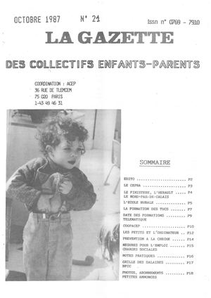 La Gazette 21 Octobre 1987