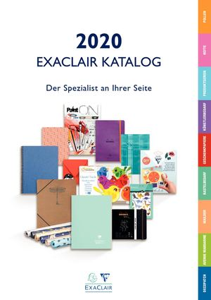 Exaclair Katalog 2020 - Clairefontaine
