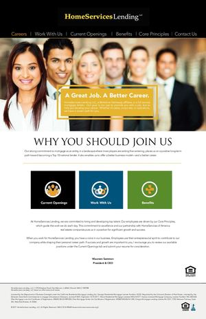 Career Website 15 pages online Human Resources