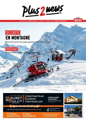 Plus2news Hautes-Alpes N°87 Jan 2020