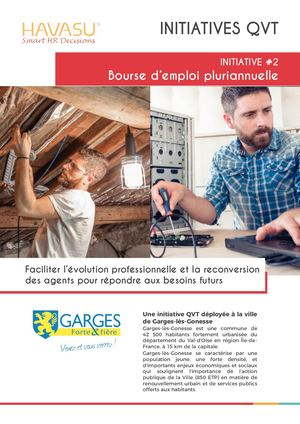 Initiative #2 - Bourse d'emploi pluriannuelle
