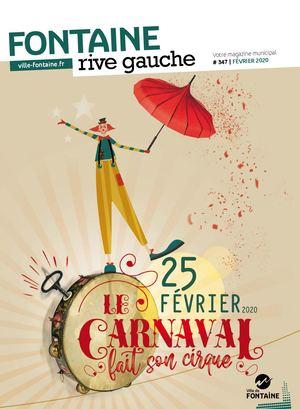 Fontaine Rive Gauche 347 Février 2020