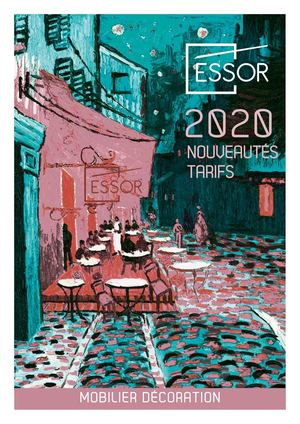 Essor Catalogue Mobilier Decoration 2020