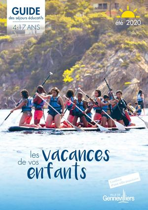 Vacances 4-17 ans - Ete 2020