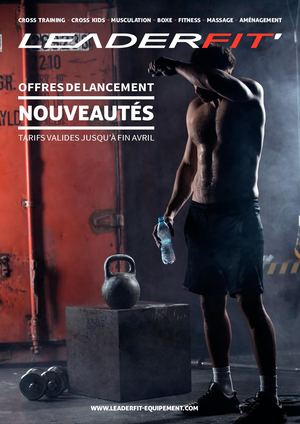Catalogue Cross Training 2020 - Leaderfit' Equipement