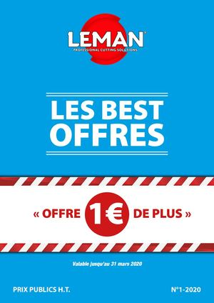 Best Offres N 01 2020 Low