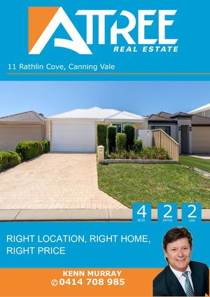 Rathlin Cove 11, Canning Vale Buyer Booklet Km Updated Feb 12