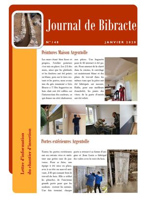 Journal Bibracte N°148
