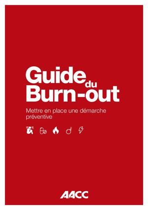 AACC Guide Burn Out