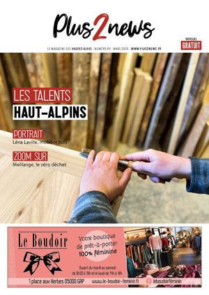 Plus2news Hautes-Alpes N°89 Mars 2020