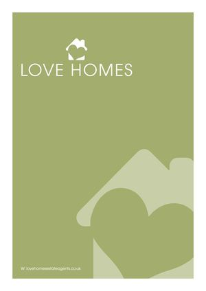 Love Homes Brochure