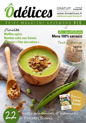 Magazine Odelices n°39 - printemps 2020