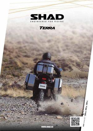 SHAD X0SG40H Borsa Moto Nero