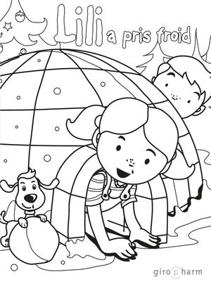 Lili28 A Pris Froid Coloriage