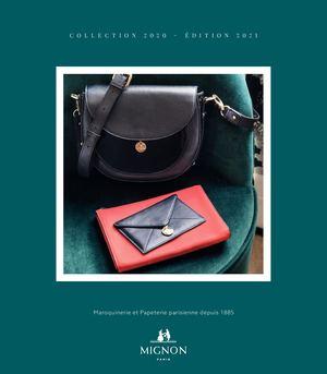 Catalogue Agendas et Maroquinerie Mignon 2020 - 2021