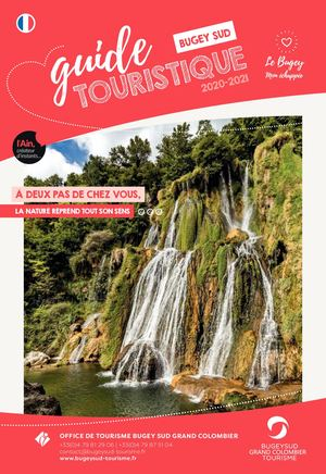Guide Touristique Bugey Sud 2020 2021