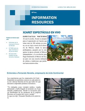 Information Resources Periódico Digital