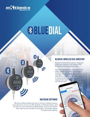 Wireless Dial Indicator BlueDial Flyer