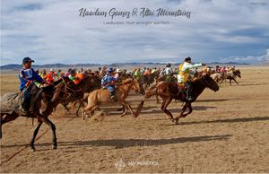 Naadam Games & Altai Mountains