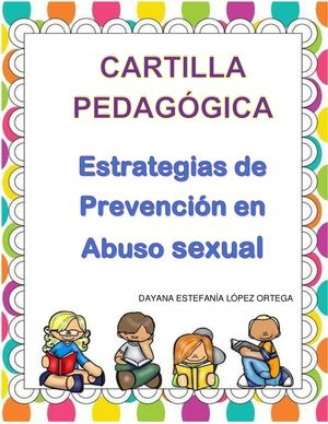 Cartilla Prevencion Abuso Sexual