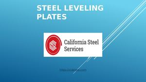 Steel Leveling Plates