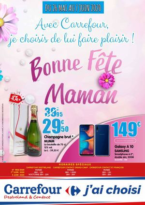 Fete Des Meres Carrefour Destreland Contact