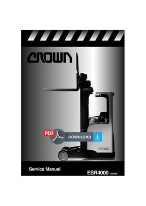 Crown ESR4000 Manual