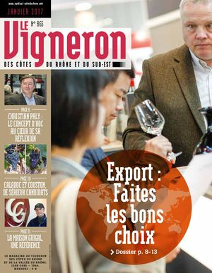 Vigneron N° 865 Janvier 2017 Article Export