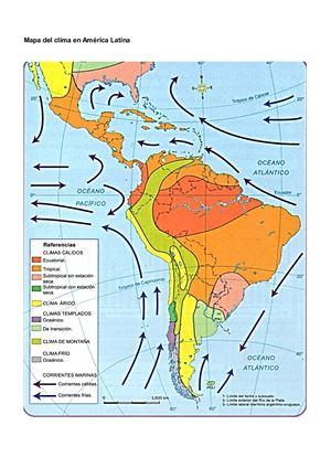 Calameo America Latina Mapa Del Clima