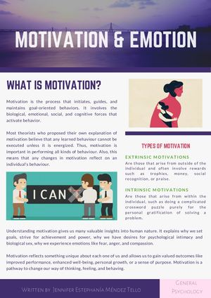 3 Motivation And Emotion