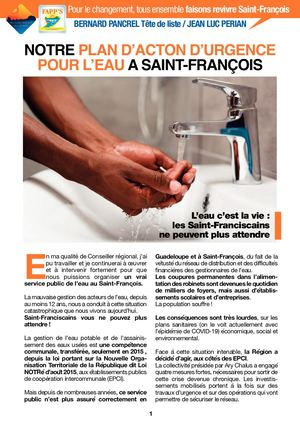 Plan Action Eau Pancrel-Perian