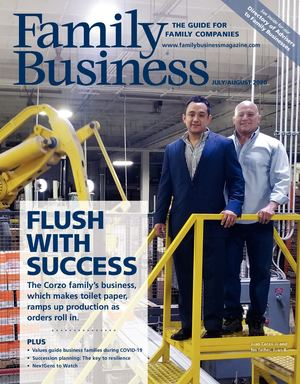Family Business Magazine— July/August 2020