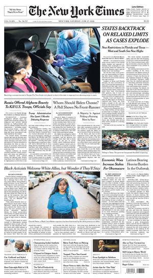 Calaméo   The New York Times June 27 2020