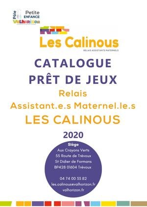 Catalogue Pret Jeux