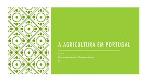A Agricultura Portuguesa Trabalho Pp Powerpoint Final